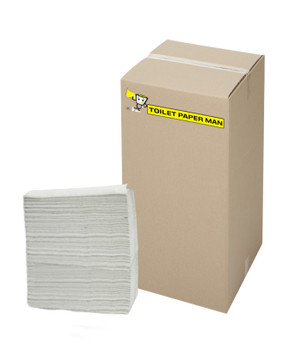 Wide Fold - 2 ply -  White Interleaved Paper Towel - 22.5 x 23 cm - 4000 Sheets Interleaved Paper Towel per Carton