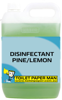 Toilet Paper Man - Disinfectant Pine and Lemon - 5 Litre - Buy your chemicals online