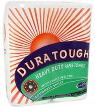Duratough Kitchen Paper Towel - 2 Ply - 60 Sheets/Roll - 48 Rolls