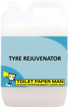 Toilet Paper Man - Tyre Rejuvenator - 5 Litre - Buy your chemicals online