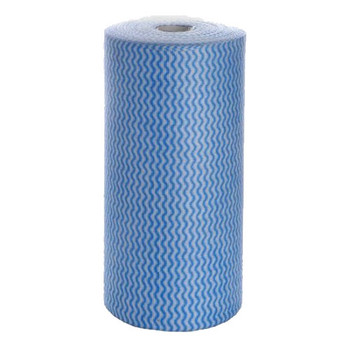 Blue Heavy Duty Wipes - 30 x 50 cm x 45 m - 6 Rolls/Carton
