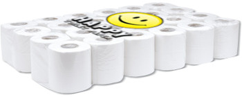 Happy Toilet Paper - 3ply 180 Sheets per Roll - 96 Rolls