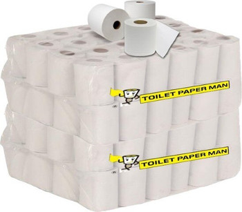 The General - Toilet Paper - 2ply 400 Sheet - 96 Rolls