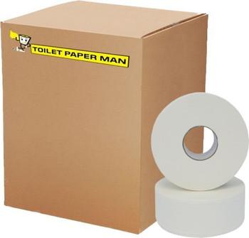 Mr X Jumbo Rolls - 2 Ply 300 Metre Per Roll - 16 Rolls of Jumbo Toilet Paper - Buy Bulk Jumbo toilet paper online.