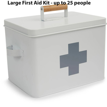 Emergency Essentials Pick - Large First Aid Kit - Up to 25 People