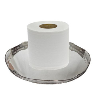 Hotel Style Toilet Paper - 2ply 400 Sheets per Roll - 48 Rolls