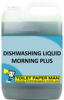 Toilet Paper Man - Dishwashing Liquid - Morning Plus - 5 Litre - Buy your chemicals online