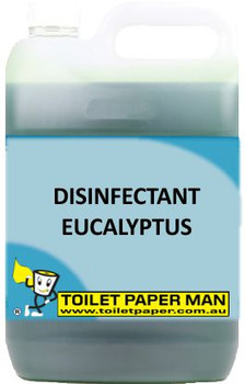 Toilet Paper Man - Disinfectant Eucalyptus - 5 Litre - Buy your chemicals online