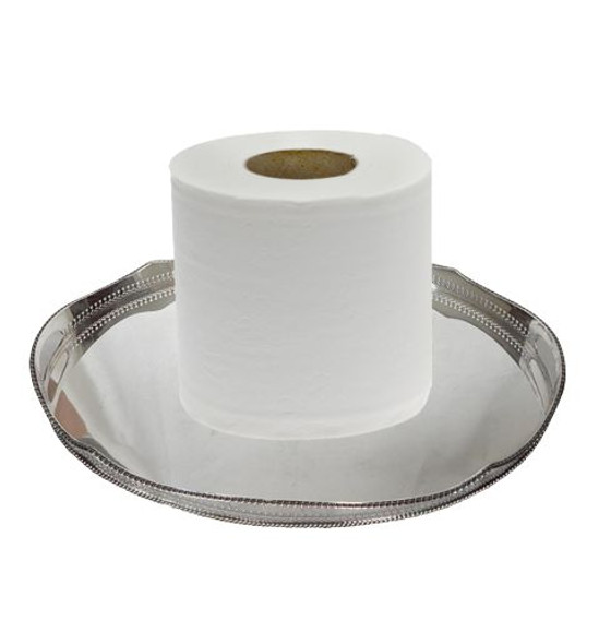 Hotel Style Toilet Paper - 2ply 400 Sheets per Roll - 96 Rolls