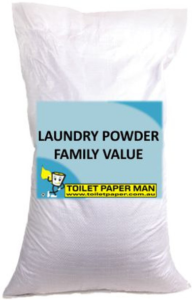 Toilet Paper Man - Laundry Powder - Family Value - 10 Kg Bag