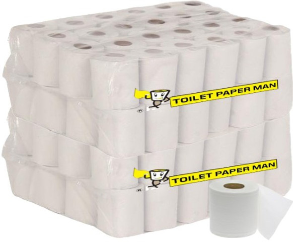 The Big One Toilet Paper - 2ply 500 Sheets - 96 Rolls