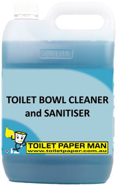 Toilet Paper Man - Toilet Bowl Cleaner and Sanitiser - 5 Litre
