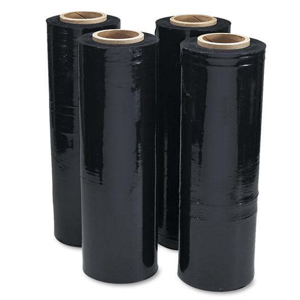 Pallet Wrap Black - 25um - 350m x 500mm/Roll - 4 Rolls