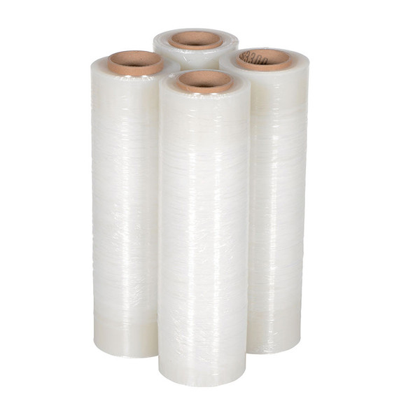 Pallet Wrap Clear - 23um - 350m x 500mm/Roll - 4 Rolls