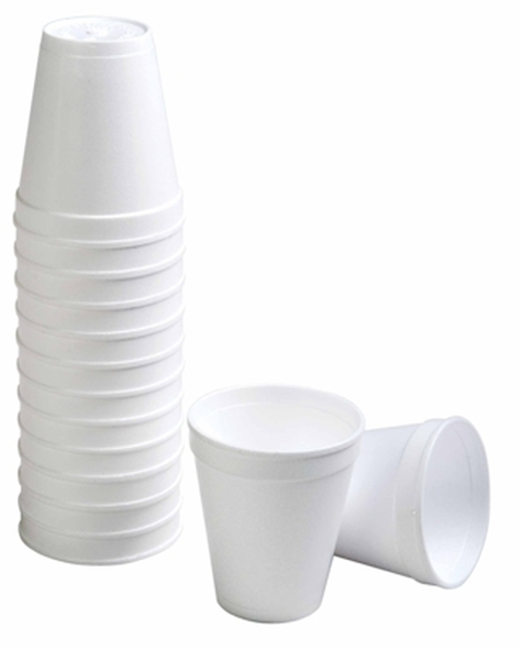 Foam Cups - Hot Drink - 237ml/8oz - 1000 Cups