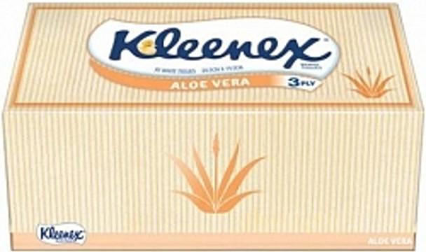 Kleenex Tissues - Aloe Vera - 90 per Box - 24 Boxes