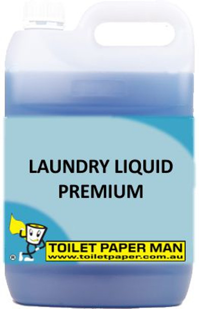 Toilet Paper Man - Laundry Liquid - Premium - 5 Litre - Buy your chemicals online