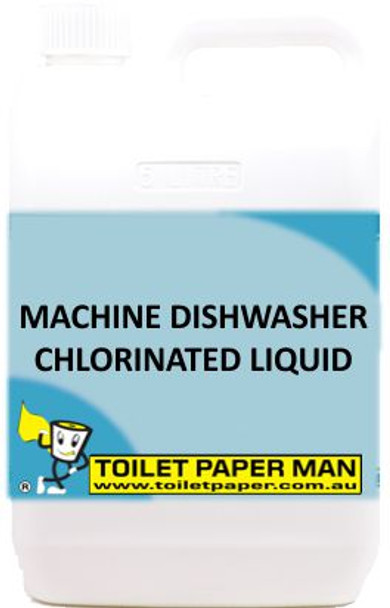 TGoilet Paper Man - Machine Dishwasher Chlorinated Liquid - 20 Litre
