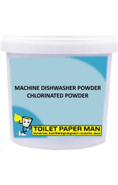 Toilet Paper Man - Machine Dishwasher Chlorinated Powder - 5 Kg Bucket