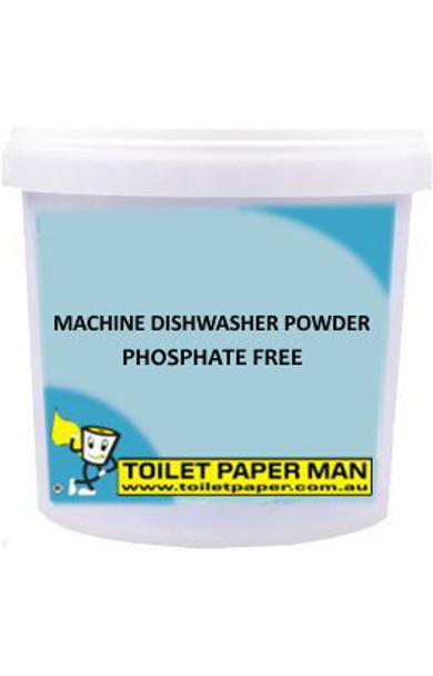 Machine Dishwasher Powder - Phosphate Free - 5 Kg Bucket