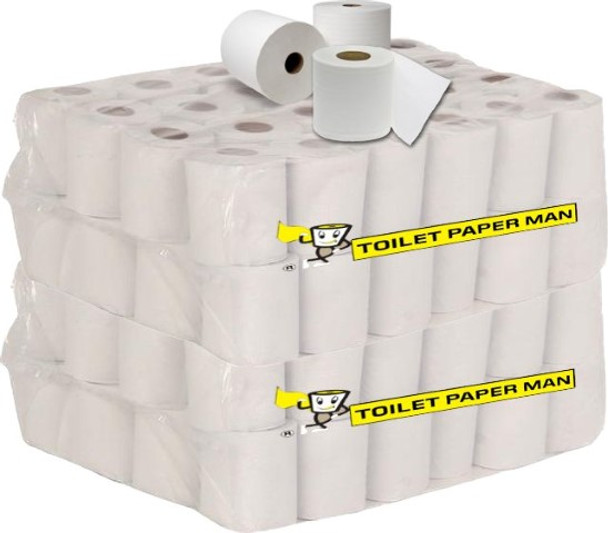 Mr. President - Toilet Paper - 3ply 250 Sheets - 96 Rolls of Toilet Paper - Buy Bulk toilet paper online.
