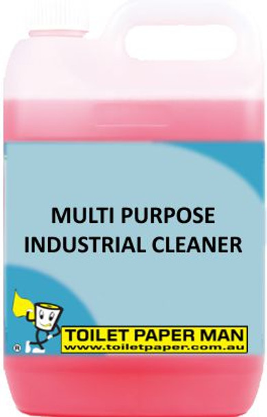 Toilet Paper Man - Multi Purpose Industrial Cleaner - 5 Litre - Buy your chemicals online