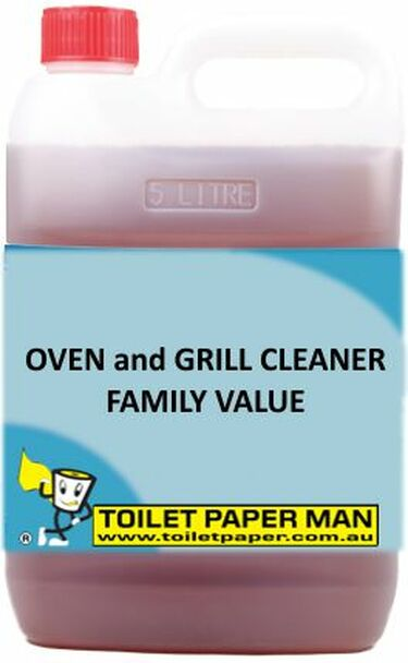 Toilet Paper Man - Oven and Grill Cleaner - Family Value - 5 Litre - Buy your chemicals online