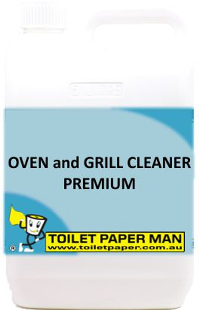 Toilet Paper Man - Oven and Grill Cleaner - Premium - 20 Litre - Buy your chemicals online
