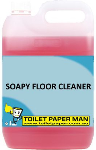Toilet Paper Man - Soapy Floor Cleaner - 5 Litre - Buy your chemicals online
