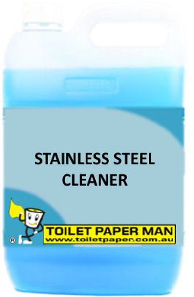 Toilet Paper Man - Stainless Steel Cleaner - 5 Litre - Buy your chemicals online