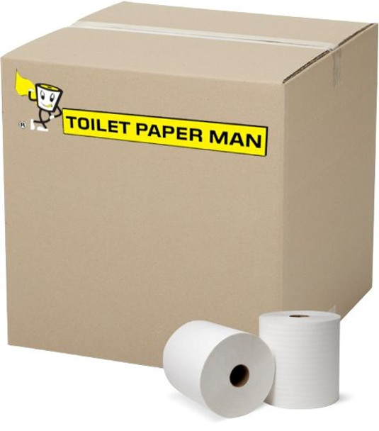 Virgin Toilet Paper - 2ply 400 Sheets per Roll - 96 Rolls of Toilet Paper - Buy Bulk toilet paper online.