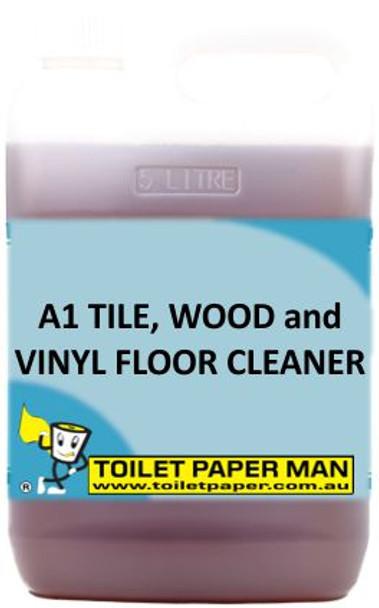 Toilet Paper Man - A1 Tile, Wood and Vinyl Floor Cleaner - 20 Litre - Buy your chemicals online