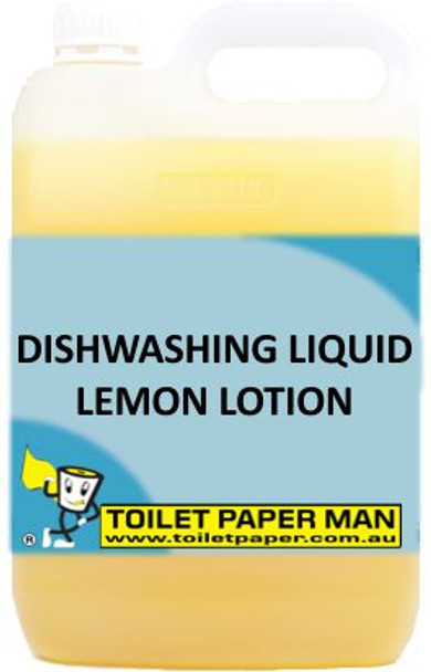 Toilet Paper Man - Dishwashing Liquid - Lemon Lotion - 5 Litre
