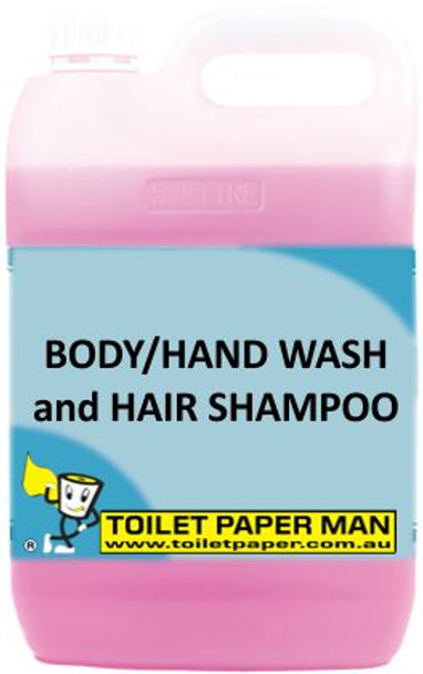 Toilet Paper Man - Body Hand Wash and Hair Shampoo - 20 Litre - Buy your chemicals online