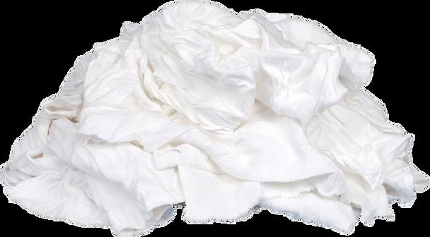 White Knit Rags - 15 kg * 15 Bags