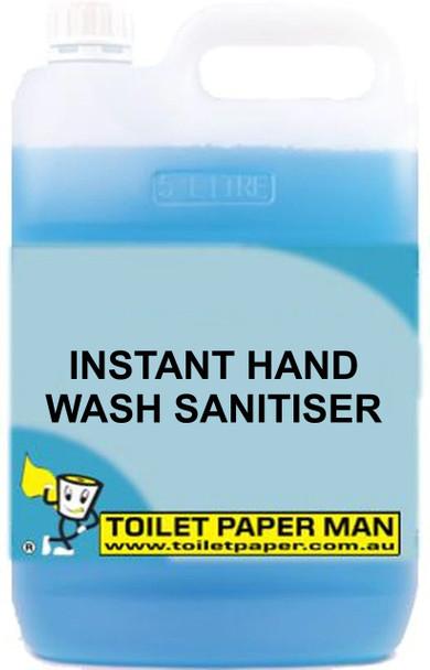 Toilet Paper Man - Bulk Liquid - Instant Hand Sanitiser - 5 Litre - Buy your chemicals online