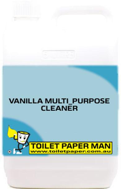 Toilet Paper Man - Vanilla Multi-Purpose Cleaner /  Air Freshener - 5 Litre - Buy your chemicals online