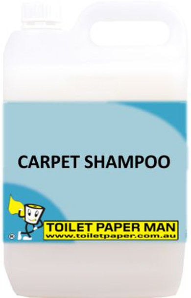 Toilet Paper Man - Carpet Shampoo - 5 Litre - Buy your chemicals online