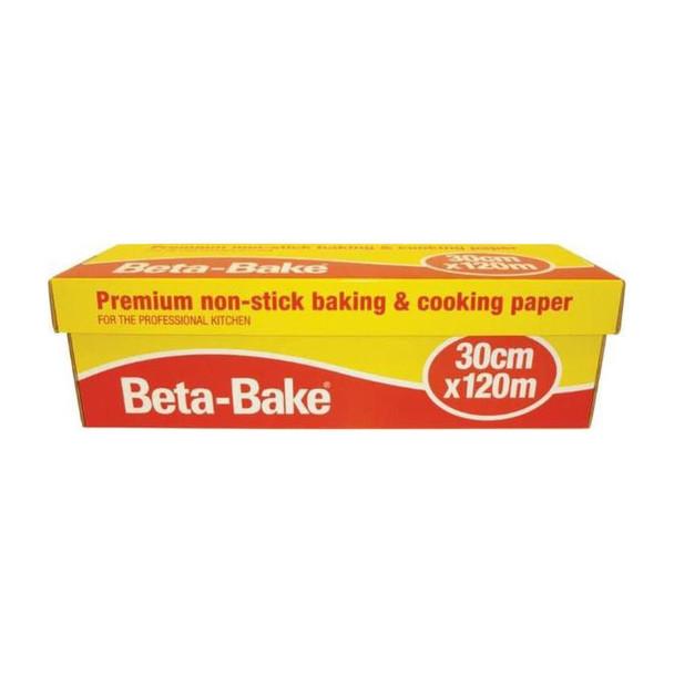 Beta-Bake Premium Cooking Paper - 30cm x 120m - 1 Roll