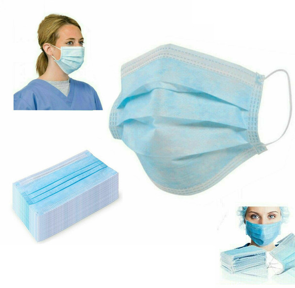 Face Masks - 50 Masks Per Box - 1 Box