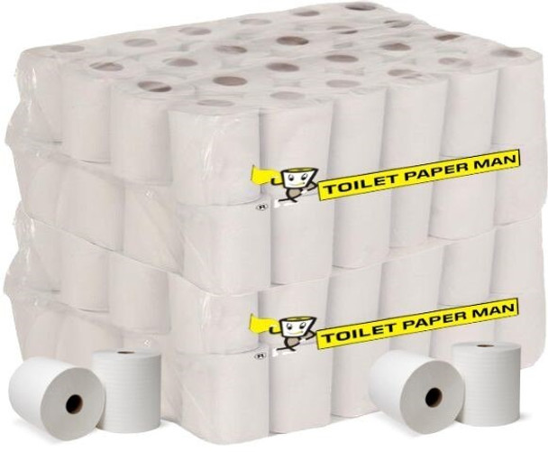 Mr Super Soft Toilet Paper - 2 ply 400 Sheets/Roll - 96 Rolls