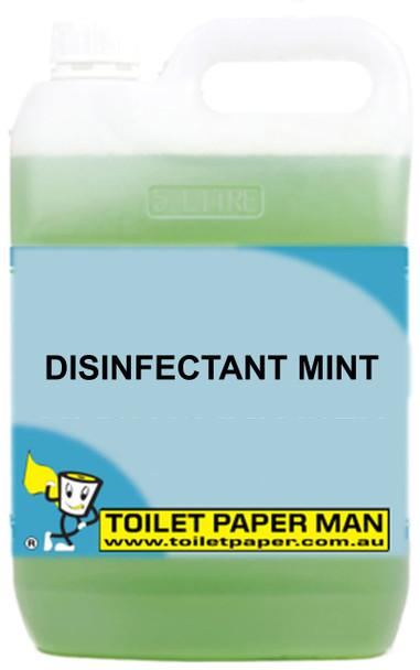 Toilet Paper Man - Disinfectant Mint - 5 Litre - Buy your chemicals online
