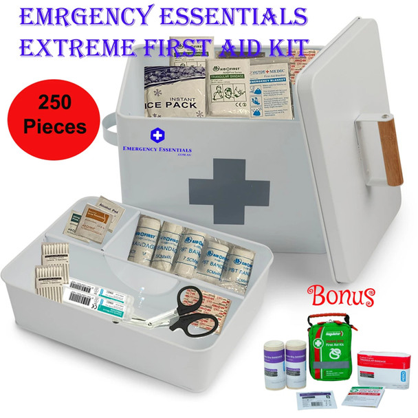Emergency Essentials Extreme First Aid Kit With a Bonus Snake Bite First Aid Kit