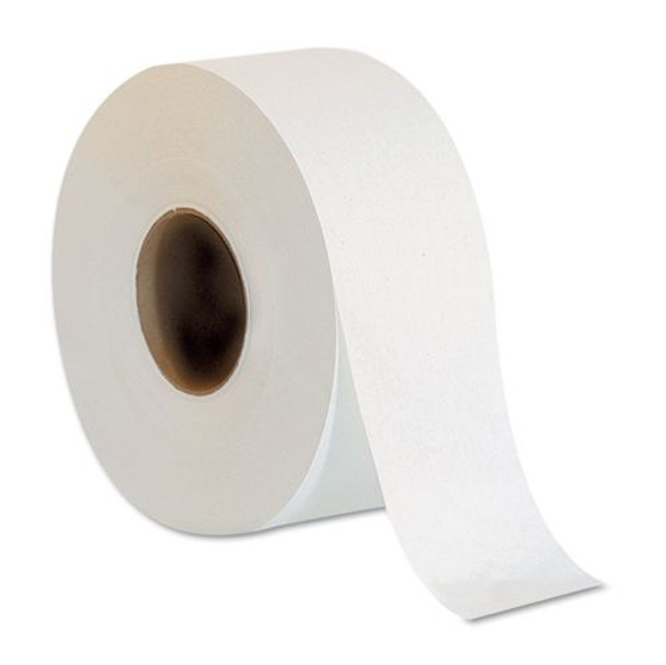 Quality 2 Ply Jumbo Roll Toilet Paper/Toilet Tissue - 9 cm x 250 m - 8 Rolls/Bag