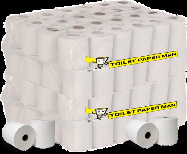 Designer Toilet Paper - 2ply 250 Sheets per Roll - 96 Rolls Toilet Paper