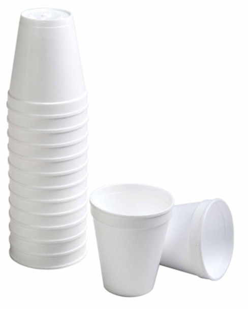 Foam Cups - Hot Drink - 237ml/8oz - 1000 Cups