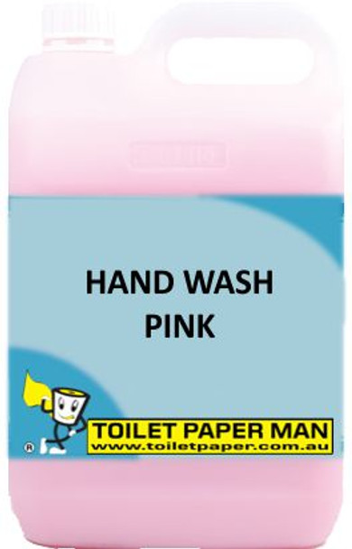 Toilet Paper Man - Hand Wash - Pink - 5 Litre - Buy your chemicals online