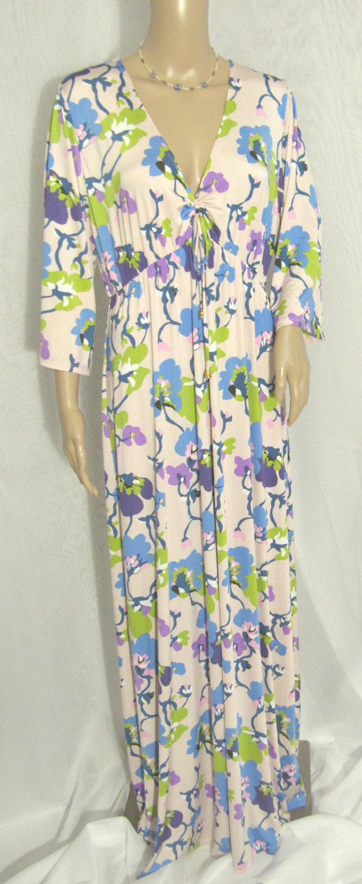 6e1d08f02b310 Nikki Poulos Alice Through The Looking Glass Long Maxi Dress NWOT ...