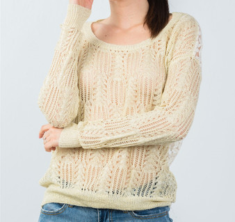 Knit Top Front
