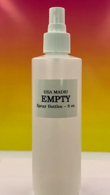 empty 8 oz spray bottle
